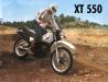 XT 550 in Aktion