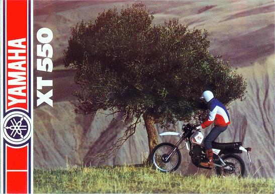 Prospekt XT 550