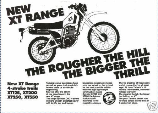 NEW XT 550 Range
