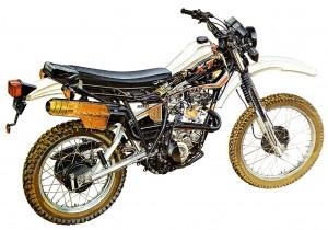 XT550 Schnittbild