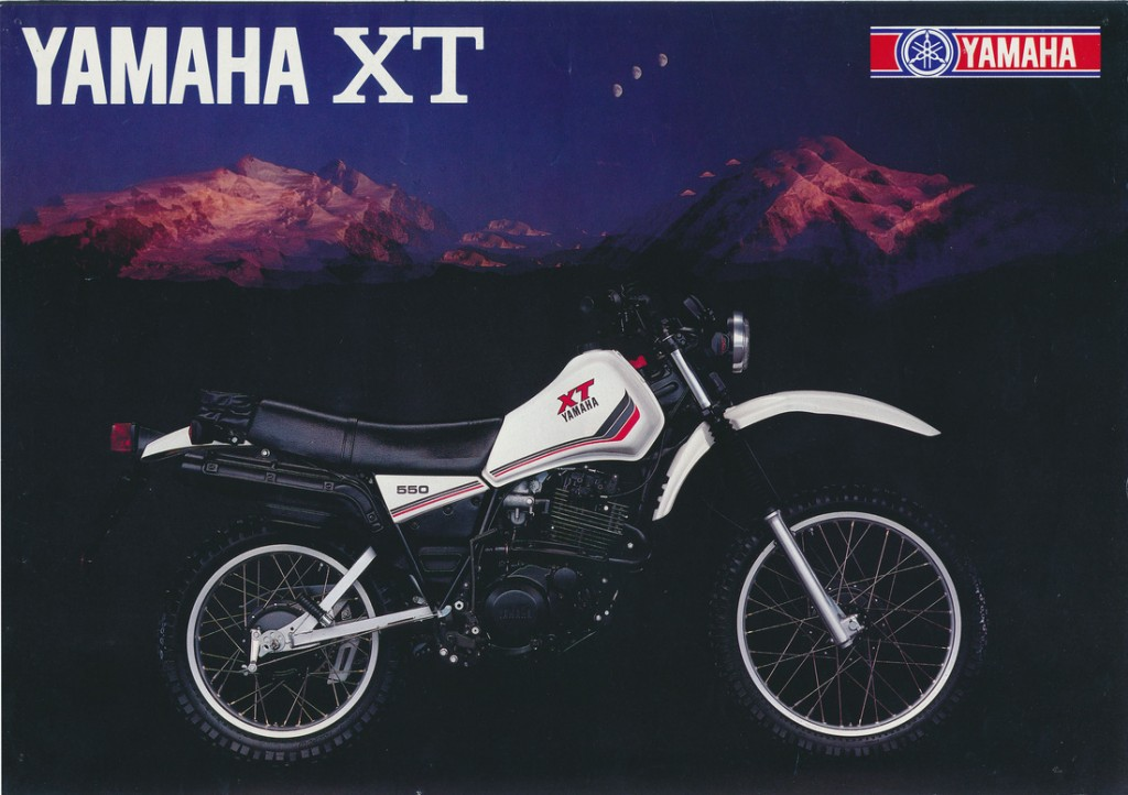 1983 XT Range Brochure. European Models