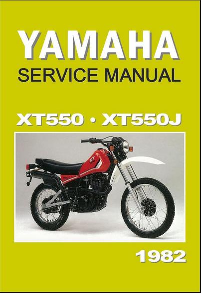 Literaturverzeichnis zur XT 550 › Die Seite zur XT 550