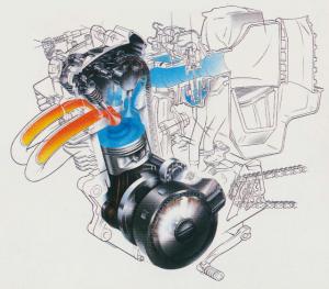 Yamaha Dual Intake System